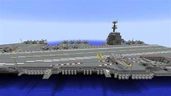 Gerald R Ford Class Aircraft Carrier Aircraft Carrier Gerald R Ford Class Minecraft Project