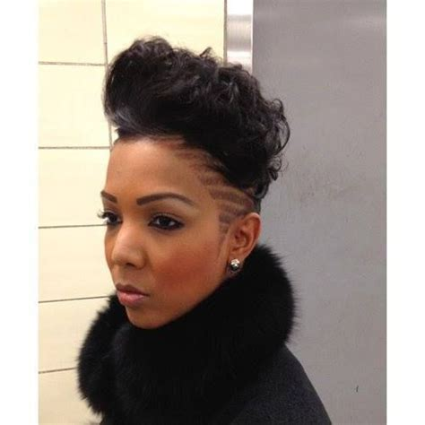 monie b hair edgy cut natural hair braid styles pinterest