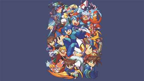 Mega man Papier peint   AllWallpaper.in #10908   PC   fr