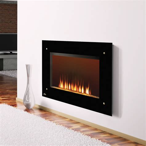 electric wall mounted fireplaces napoleon 39 quot wall mount electric fireplace ef39s no heat