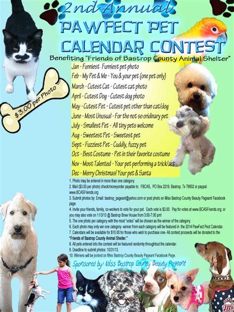 pawfect puppy quot pawfect quot pet calendar 2014 miss bastrop county pageant
