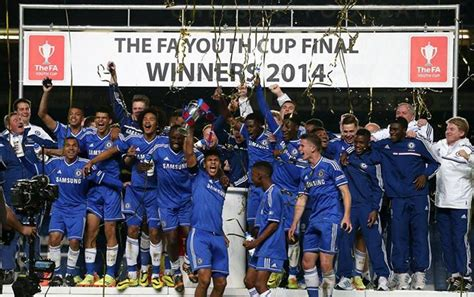 chelsea youth chelsea youth are f a cup winners 2014 zazawaga