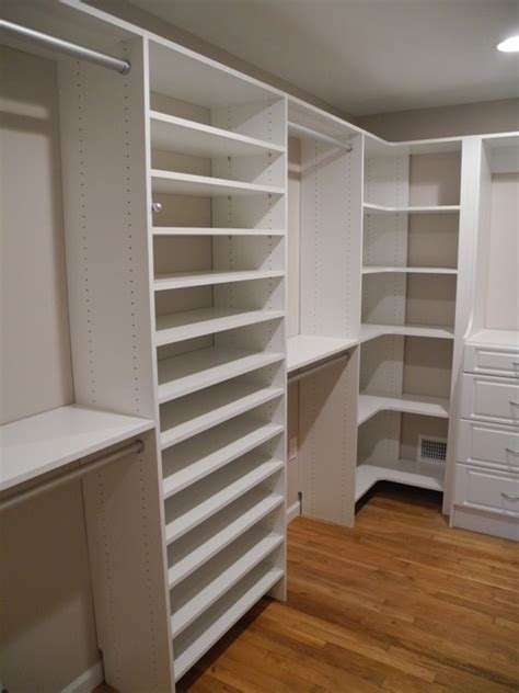 All About Closets by Jackson Walk Closet Monolithic Look Traditional Closet Newark By All About Closets