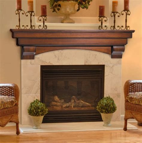 Fireplace Shelves by Pearl Mantels 495 Auburn Fireplace Mantel Shelf