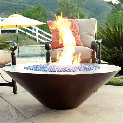 Buy A Custom 48 Inch Cono Moreno Hand Hammered Copper Fire 48 Inch Pit