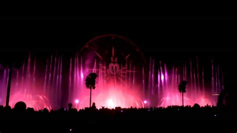 world of color sections dca world of color so close finale blue section