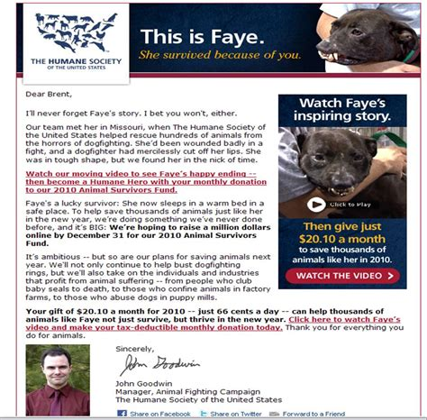 Fundraising Letter For Animal Shelter betrayal deceit at the humane society of the united states nathan j winograd