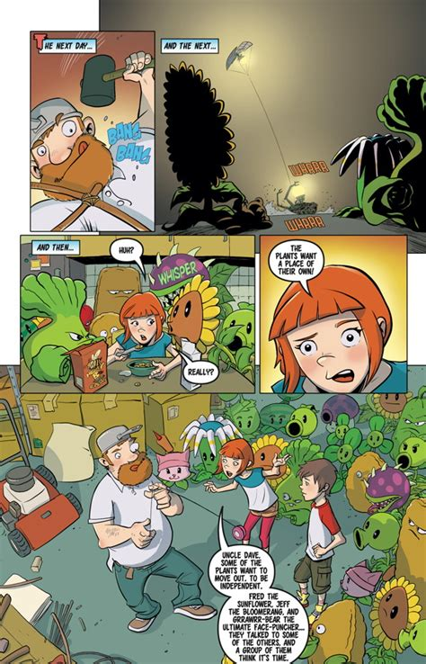 plants vs zombies volume 4 grown sweet home dave says goodbye to his plants in plants vs