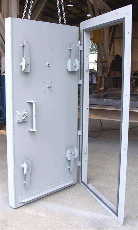 Blast Door by Blast Resistant Doors For Underground Bunkers
