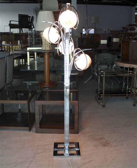 chrome globe floor l chrome italian modern four art globe floor l square