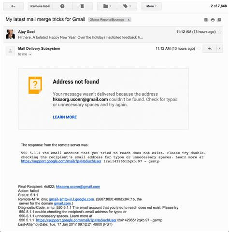 format email in gmail gmail rolls out a new and prettier bounce notification format