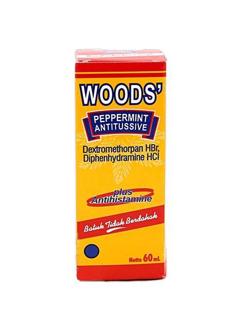 Obat Woods woods obat batuk liquid peppermint antitussive btl 60ml