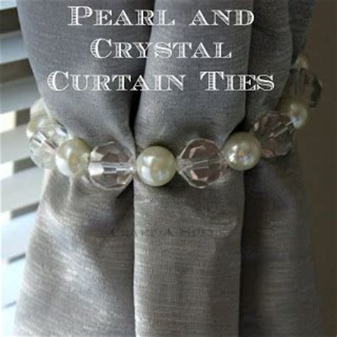 make your own curtain tie backs curtain ties curtains and ties on pinterest