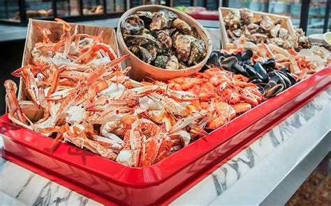 10 seafood buffets in singapore that would be shellfish of
