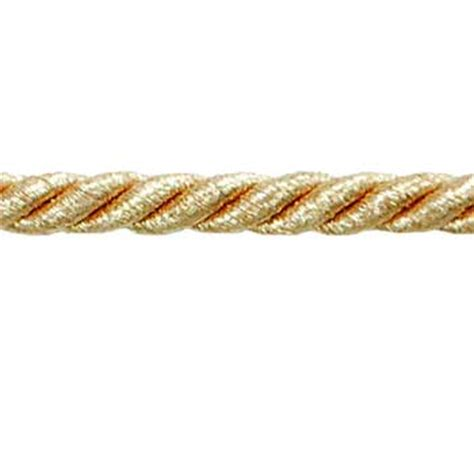 cord trim for upholstery 1 4 quot noel cord trim metallic gold best fabric store