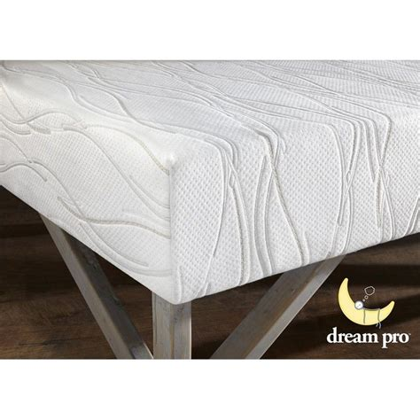 dream foam bedding dream pro restore 10 inch gel infused queen memory foam