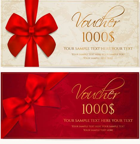 gift certificate template ai gift certificate template ai vector t voucher
