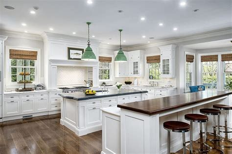 bright english kitchen style with white cabinetry and a 41 luxury u shaped kitchen designs layouts photos
