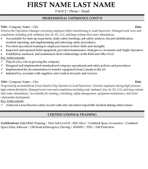 Resume Target Inc Toronto by Operations Superintendent Resume Sle Template