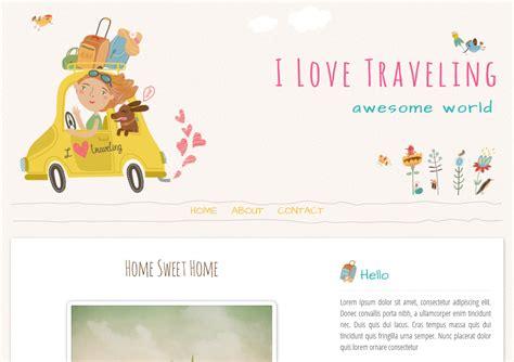 love templates for blogger i love traveling blogger template ipietoon cute blog design