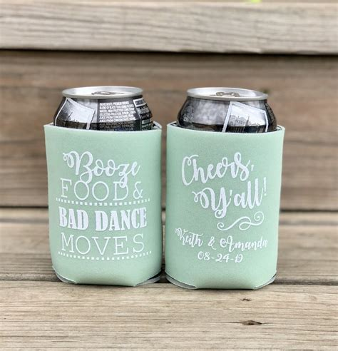 custom koozies knot  nest designs