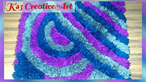 Crochet Doormat by No Knitting No Crochet Make Woolen Soft Rug Doormat Carpet