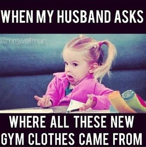 Funny Husband Memes - gym humour and clothes on pinterest