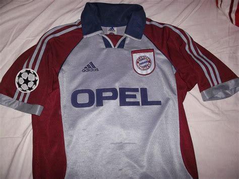 bayern münchen t shirt 1998 bayern munich copa camiseta de f 250 tbol 1998 1999 a 241 adido