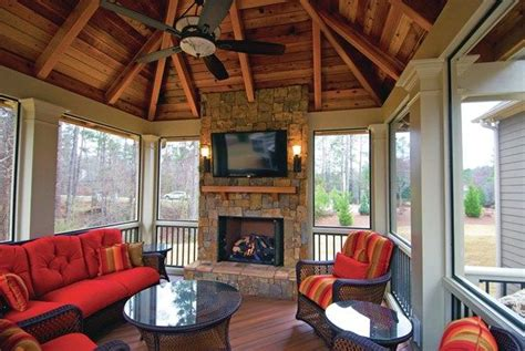 Hip Roof Vaulted Ceiling When Well Executed A Hip Roof On A Detached Porch Can