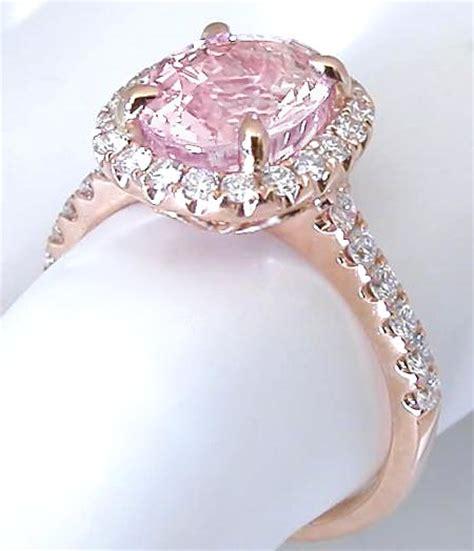 light pink sapphire engagement ring gr 5992