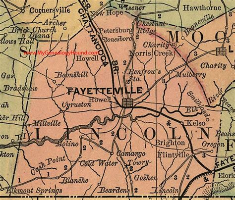 lincoln tennessee 96 best vintage tennessee county maps images on