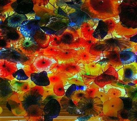 Ceiling Chihuly by Colour Theory Dale Chihuly Glass Artist Using Light And