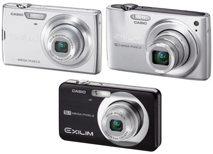 New Casio Exilim Cosies Up To Technology by Casio Archives Tech Digest