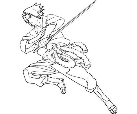 sasuke uchiha 12 coloring crafty teenager