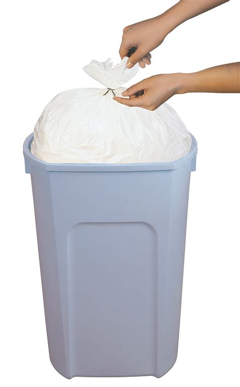 garbage compactor bags galleon trash compactor bags 20 gallon twist tie white