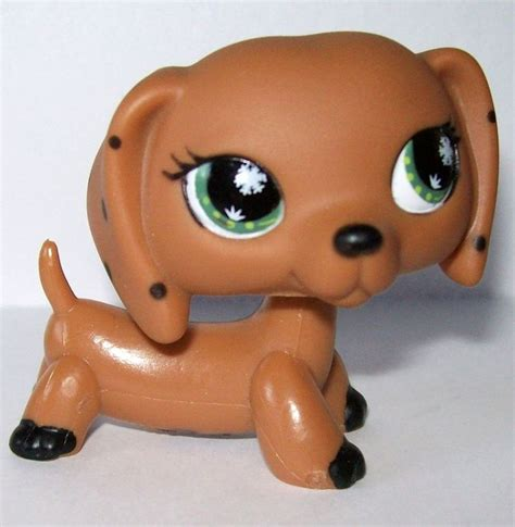 lps dogs littlest pet shop lps european monopoly dachshund weiner puppy just