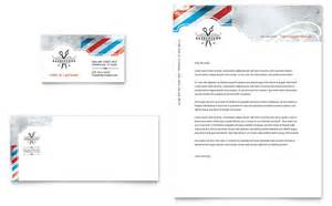 barbershop business card amp letterhead template design