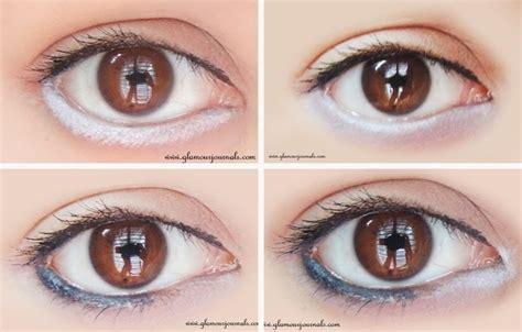eyeliner tutorial to make eyes look bigger how to make eyes look bigger using white eyeliner