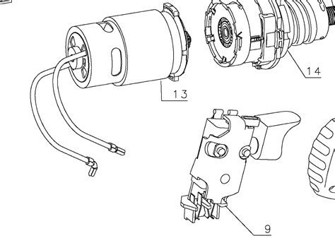 electric drill motor wiring diagram wiring diagram manual