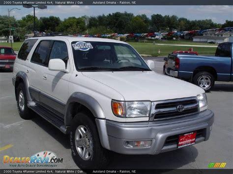 2000 Toyota 4runner Limited 2000 Toyota 4runner Limited 4x4 White Oak Photo