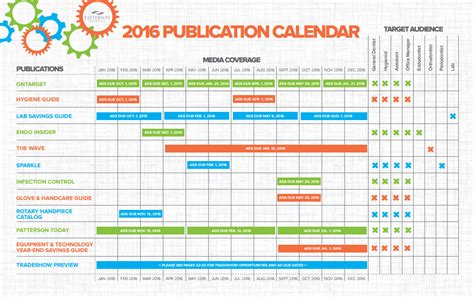 Promotional Calendar Template by Marketing Calendar Excel Template Calendar Template 2016