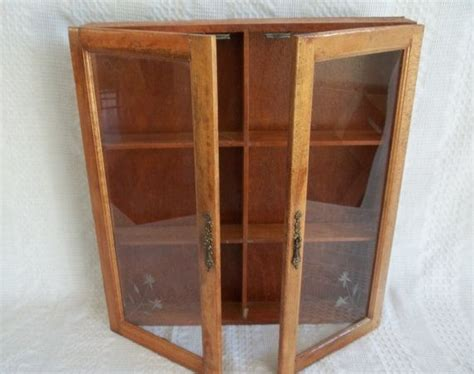 wall spice cabinet with doors vintage wooden wood wall display cabinet apothecary spice