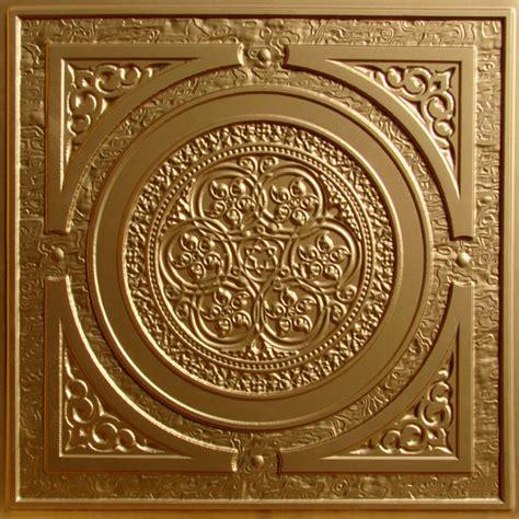 gold ceiling tiles steunk faux tin ceiling tile 24 quot x24 quot 225 gold