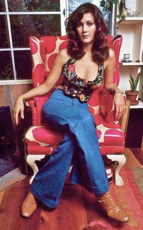62 best vintage ladies pants images on pinterest fashion lynda carter 1976 tv star wonder woman actress vintage
