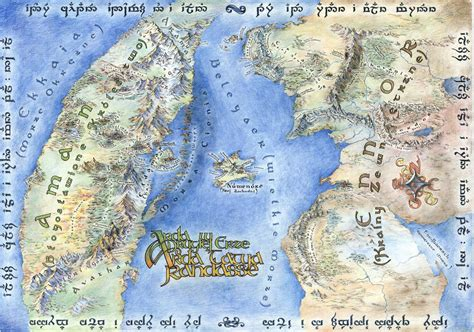 tolkien map middle earth on the subject of maps and bad lotr