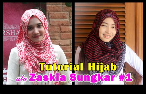 tutorial hijab sehari hari zaskia sungkar tutorial hijab pashmina zaskia sungkar youtube tutorial