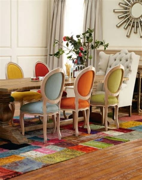 Dining Table Eclectic Chairs 17 Best Ideas About Eclectic Dining Rooms On