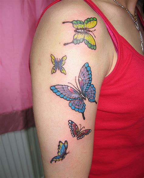 45 Beautiful Exles Of Butterfly Inspired Tattoo Designs Colorful Cool Arm New Pattern For 2011 12