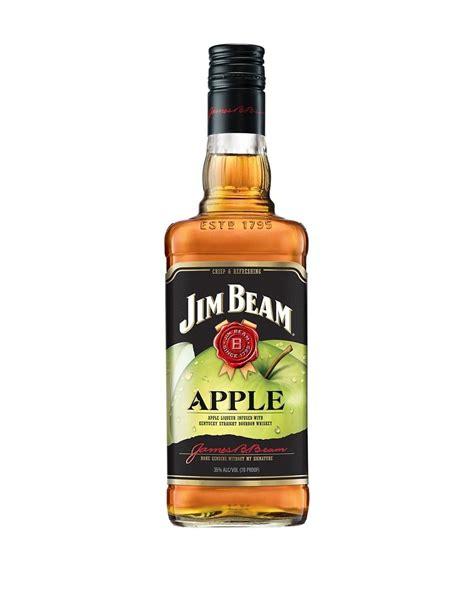 jim beam 174 apple bourbon buy online or send as a gift reservebar