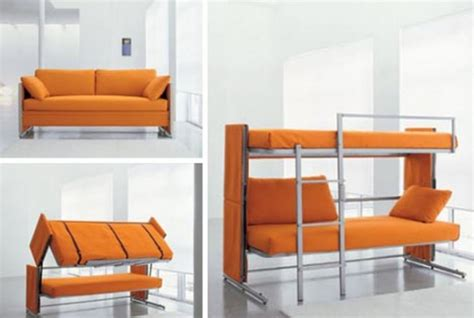 Bunk Beds With Desk And Sofa Bed by Multipurpose Convertible Furniture